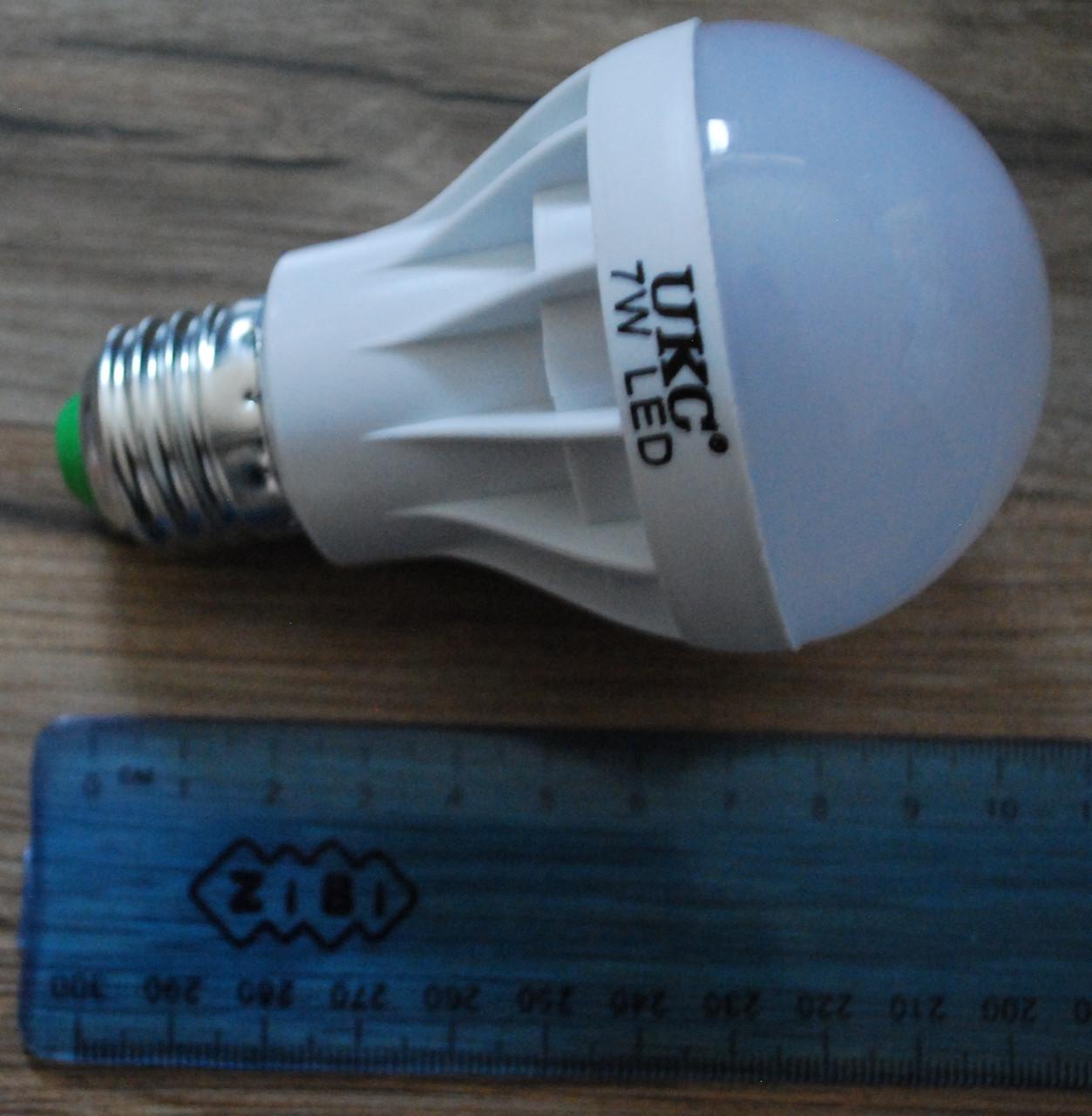 Светодиодная LED лампочка UKC 7W E27 10шт, А289
