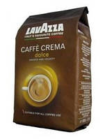 Кофе в зернах Lavazza Dolce Cafe Crema, 80% Арабика/20% Робуста, Италия, 1 кг