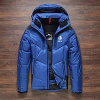 Чоловічий зимовий пуховик. Лижний пуховик RLX. Чоловіча зимова куртка. Модель 968, фото 2