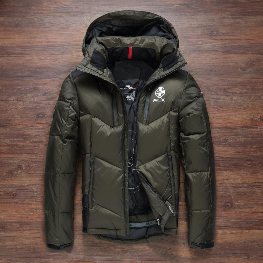 1a51d14b098ec Модель 968, фото Мужской зимний пуховик. Лыжный пуховик RLX. Мужская зимняя  куртка.