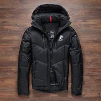 Чоловічий зимовий пуховик. Лижний пуховик RLX. Чоловіча зимова куртка. Модель 968, фото 5
