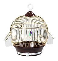 Золотая клетка Dia (ПКЗ 120) для мелких птиц, d28х37 cm