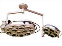 Светильник операционный  семнадцатирефлекторный потолочный (два блока, 12+5)