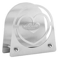 Подставка для салфеток стальная Vincent VC-1334