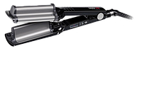 BaByliss BAB2469TTE Плойка для волос тройная Ionic 3D Hi-Def Waver 19мм BAB2469TTE-титан