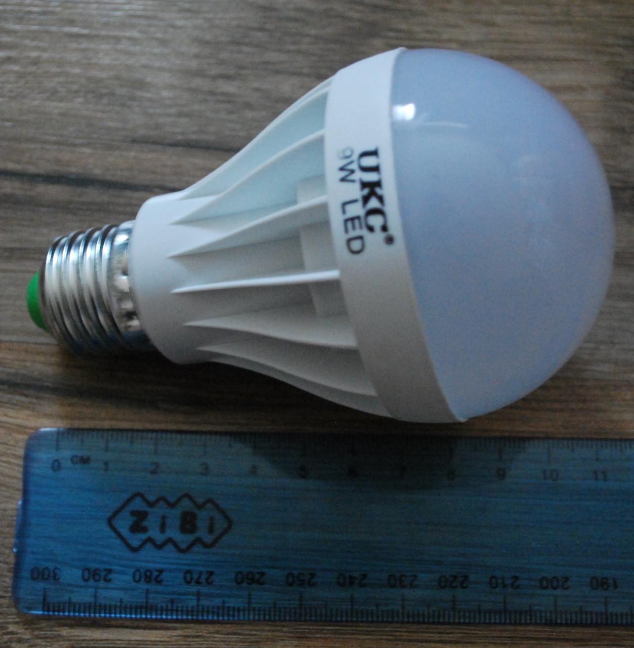 Светодиодная LED лампочка UKC 9W E27, А290