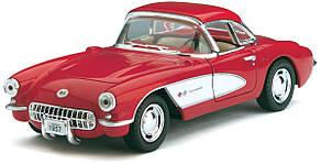 1957 Chevrolet Corvette машинка Kinsmart
