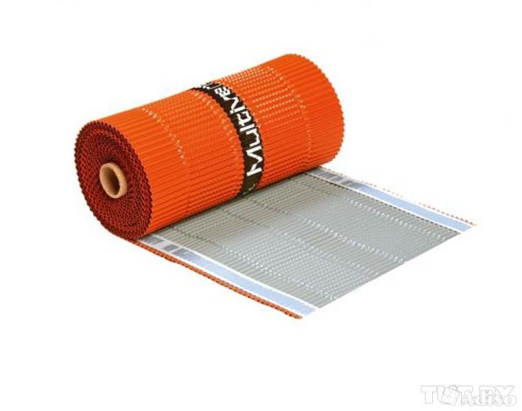 Коньковая вентиляционная лента  WA-BIS Multivent 300 x 5000 мм Коричневый (0961)