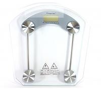 Электронные веса ACS 2003B, квадратные, закаленное стекло со вставками, 150 кг, килограммы/фунты