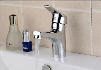 Смеситель кран одно рычажный в ванную комнату для умывальника