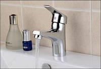 Смеситель кран одно рычажный в ванную комнату для умывальника, фото 1