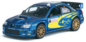 Subaru Impreza WRC 2007 машинка Kinsmart