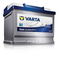 Аккумулятор Varta BLUE DYNAMIC (Asia) 60 Ah, плюс cправа 540 А