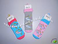 Махровые носочки детские с тормозами TM BROSS р.3-5 (25-27 см))