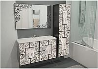 Комплект мебели в ванную Иллюзия 80