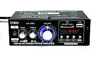 Усилитель звука UKC AK-699D + FM, USB, СУПЕРЦЕНА! Гарантия!