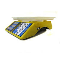 Весы настольные электронные торговые Domotec MS-266, 40 кг, 3 класс точности, аккумулятор 6В
