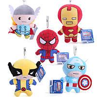 Мягкая игрушка-брелок Marvel супергерои