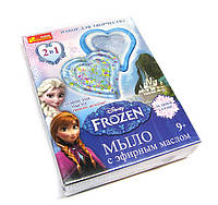 Набор для мыловарения для девочки Frozen Disney с эфирными маслами