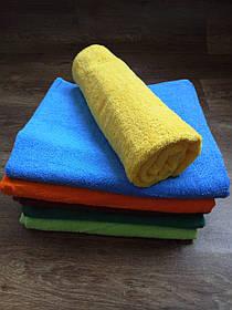 Полотенце махровое 70х140, цвет желтый, 100% хлопок - плотность 380