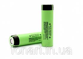 Аккумулятор Panasonic NCR18650B Li-Ion 3400 mAh (без платы защиты)