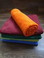 Полотенце махровое 70х140, цвет оранжевый, 100% хлопок - плотность 380