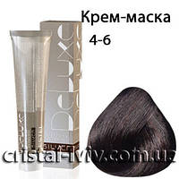 Крем-краска De Luxe Silver 4-6 шатен фиолетовый