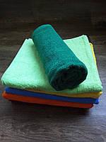 Полотенце махровое 70х140, цвет зеленый, 100% хлопок - плотность 380