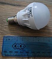 Светодиодная LED лампочка UKC 3W E14, 5шт А293
