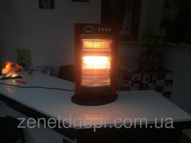 НОВИНКА !!! ZENET -ZET 515 - Обогреватель с галогенной лампой.