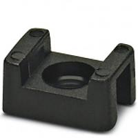 Держатель кабельной стяжки (под винт) LXL - 4,5 мм черный (100 шт.)