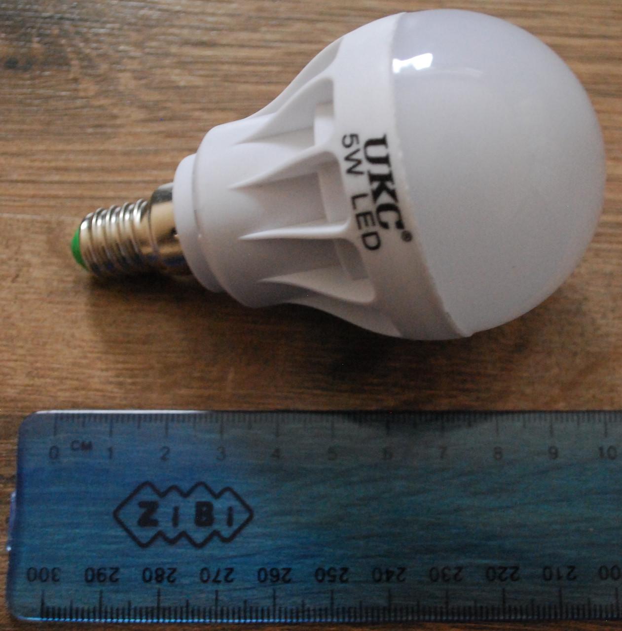 Светодиодная LED лампочка UKC 5W E14 5шт, А294