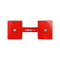 Струбцина магнитная для сварки регулируемая YATO 85х65х22 мм 2х22,5 кг (YT-0862)