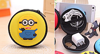 Чехол-сумка Миньен для наушников, зарядки телефона и разной мелочевки