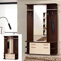 Мебель для прихожей Прима, готовый шкаф для маленьких прихожих, 1350*2500*380