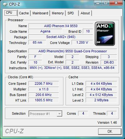 AMD PHENOM 9550 WINDOWS VISTA DRIVER