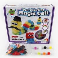 Конструктор липучка Magic Ball 400 деталей, фото 1