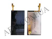 Дисплей (LCD) HTC 609d Desire с сенсором черный