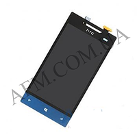 Дисплей (LCD) HTC A620e Windows Phone 8S + touch screen blue