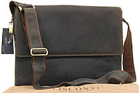 Большая кожаная сумка Visconti 16052XL Texas (oil brown)