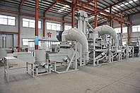 Оборудование для очистки, шелушения и сепарации семян подсолнечника