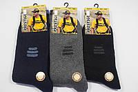 Носки мужские шерстяные Prestige (однотонные с небольшим рисунком)
