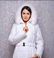 Женская зимняя куртка белая К 103-15 р. 52
