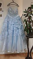 Голубое бальное платье, Зима, Снежная королева