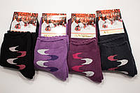 Montebello носки женские махровые средняя посадка ( с узором )
