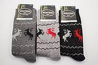 Monteks носки женскте махровые (Олень)