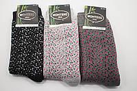 Monteks носки женскте махровые (Леопардовые узоры)