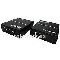HDMI удлинитель to Lan (50m) POE IR (ST-S150)