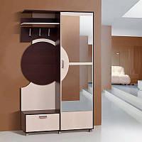 Шкаф для одежды в прихожую Фиона 1210*2090*385 темный венге/светлый венге