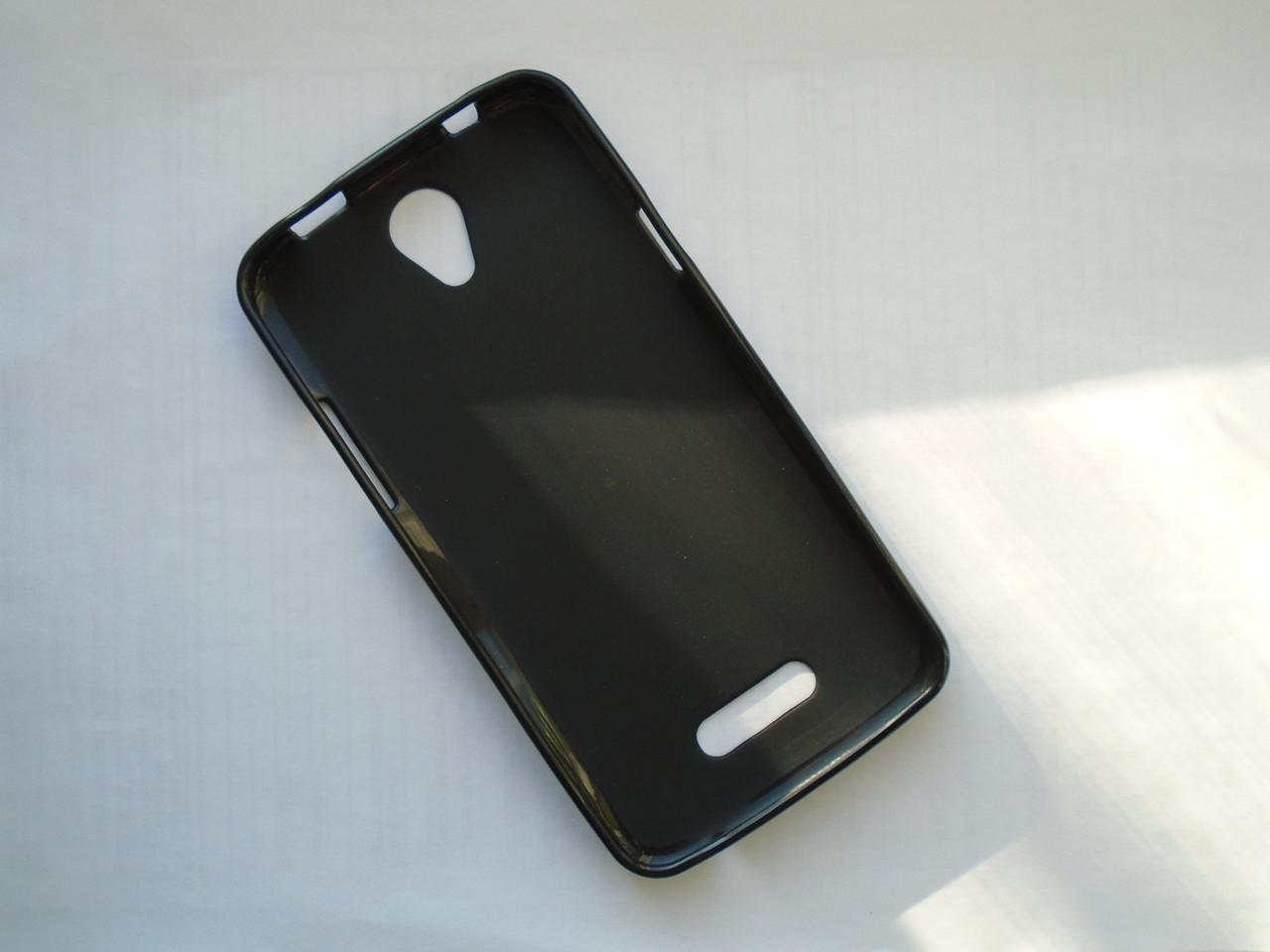 Чехол бампер силиконовый Doogee x6  Black